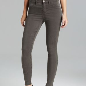 J Brand Luxe Sateen High Rise Maria Skinny Jeans
